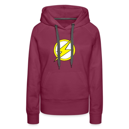 Kid Flash Logo - Second Channel - Women's Premium Hoodie
