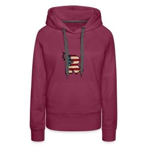 SuppzReviews R Logo - Women's Premium Hoodie