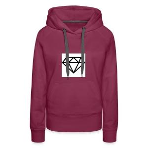 diamond outline 318 36534 - Women's Premium Hoodie