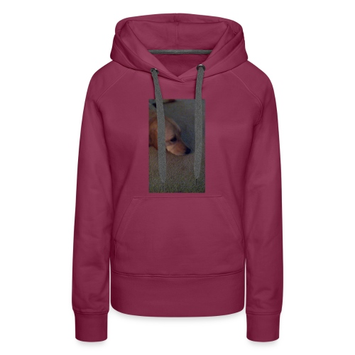 Doggy clinch back pack - Women's Premium Hoodie