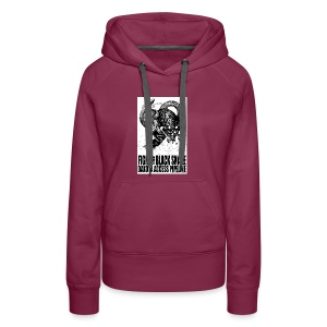 Fight the Black Snake NODAPL - Women's Premium Hoodie