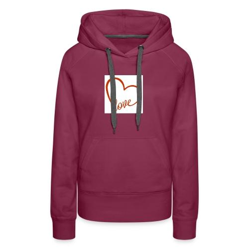 love1 - Women's Premium Hoodie