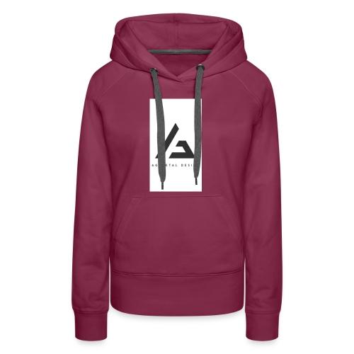 AQFAGamer logo - Women's Premium Hoodie