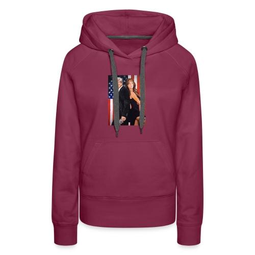 Melania & Donald - Women's Premium Hoodie