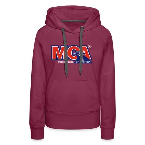 MCA Logo Transparent - Women's Premium Hoodie