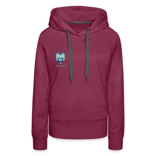 Blue - Women's Premium Hoodie