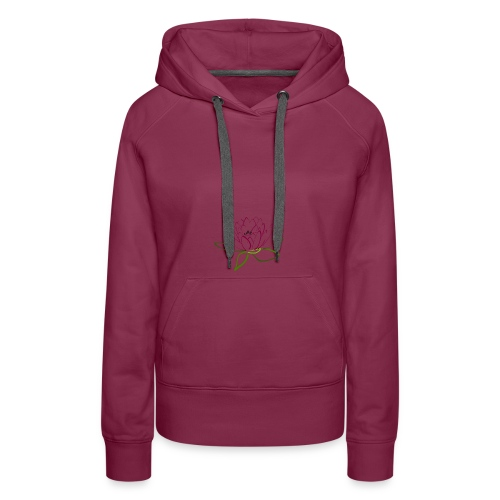 as lotus flower - Women's Premium Hoodie