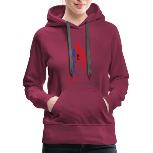 Real Warriors Bleed Blue tshirt. Limited Edition!! - Women's Premium Hoodie