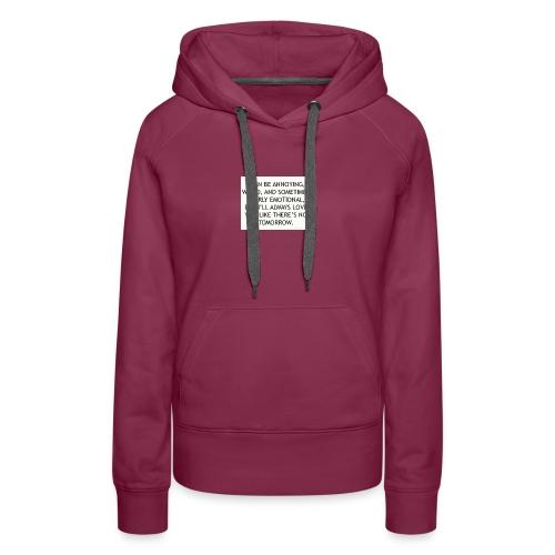 large - Women's Premium Hoodie