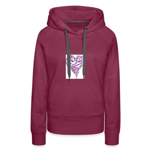 Jikjak heart - Women's Premium Hoodie