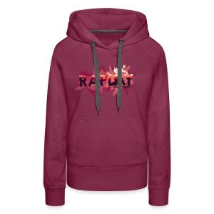 Raplay Paint #VemPraRaplay - Women's Premium Hoodie