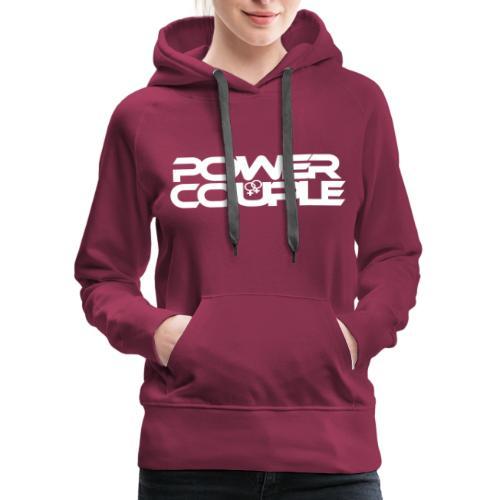 #PowerCouple Female-Female - Women's Premium Hoodie