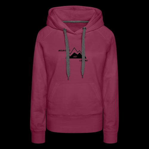 Mountain Design - Women's Premium Hoodie