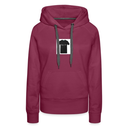 Čierne tričko D3vid_TV - Women's Premium Hoodie
