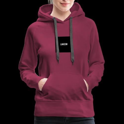 Lakeem T-shirt - Women's Premium Hoodie