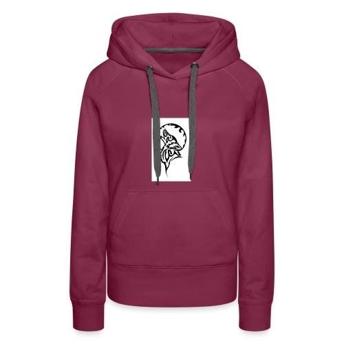 dark wolf - Women's Premium Hoodie