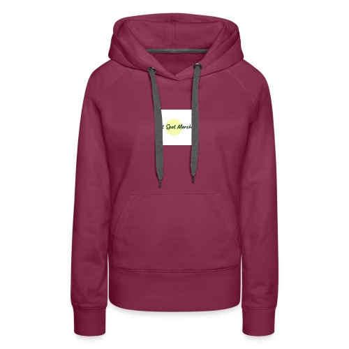 Hot Spot Merch W/ Circle - Women's Premium Hoodie