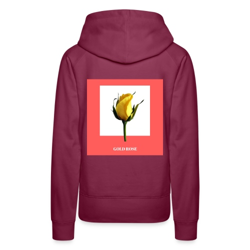 GOLD ROSE COLLECTION - Women's Premium Hoodie
