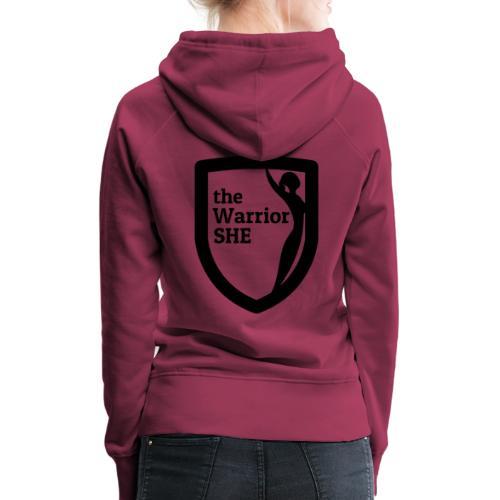 theWarriorSHE logo t-shirt - Women's Premium Hoodie