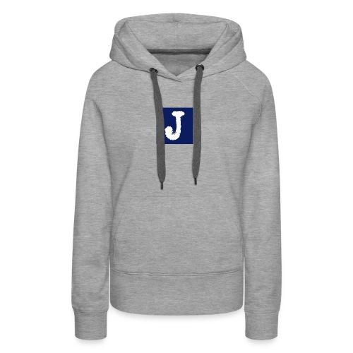 j logo big - Women's Premium Hoodie