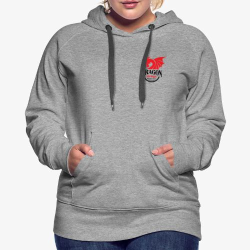 Official Red & Black logo - Women's Premium Hoodie