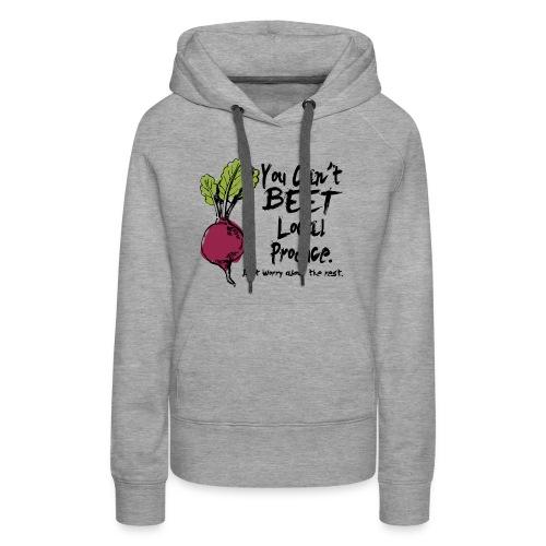 You can't beet copy - Women's Premium Hoodie