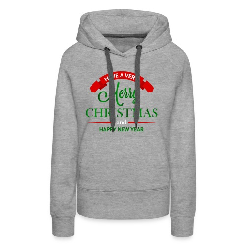 Have a Merry Christmas Decoration PNG Clipart 28 - Women's Premium Hoodie