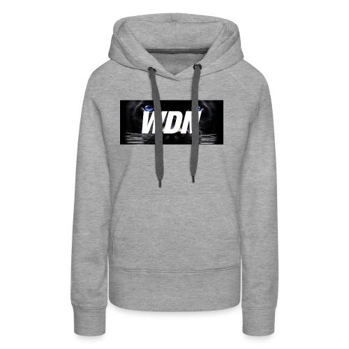 WDN black - Women's Premium Hoodie
