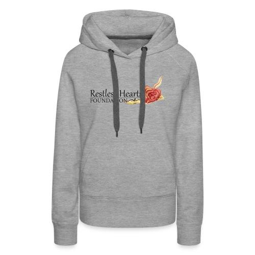 Restless Hearts Foundation Logo - Women's Premium Hoodie