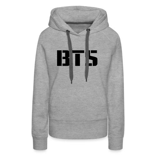 BTS Wordmark svg - Women's Premium Hoodie