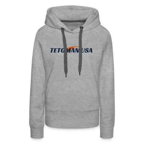 Tetoman USA! No Exceptions!!! - Women's Premium Hoodie