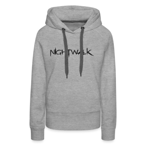 Nightwalk Logo - Women's Premium Hoodie
