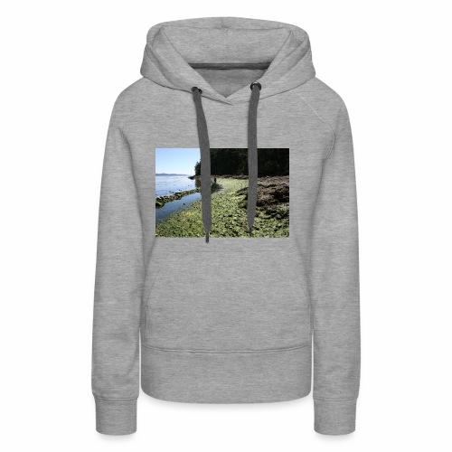 Russell Island Clam Garden - Women's Premium Hoodie