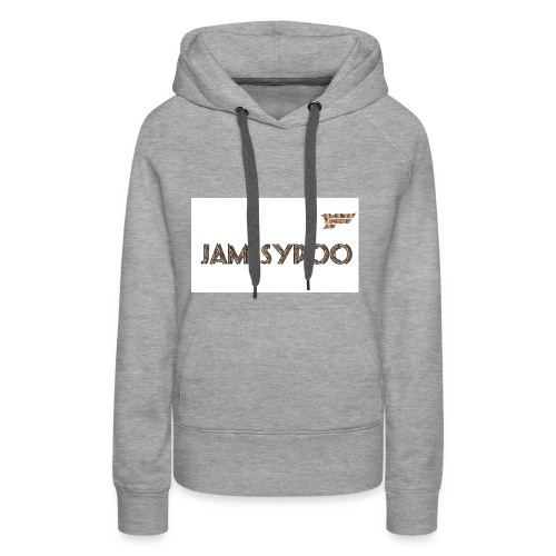 Jamesypoo logo - Women's Premium Hoodie