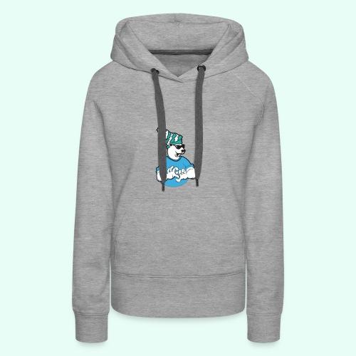 Sarcasm XD Poaly the Polar bear - Women's Premium Hoodie