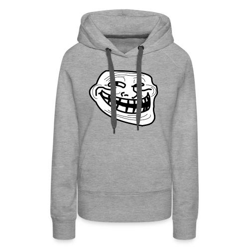 Troll Face short sleeved shirt - Women's Premium Hoodie