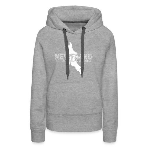 NF All White - Women's Premium Hoodie