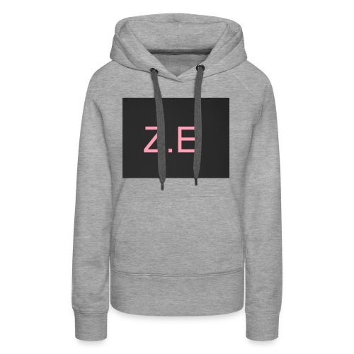 Zac Evans merch - Women's Premium Hoodie