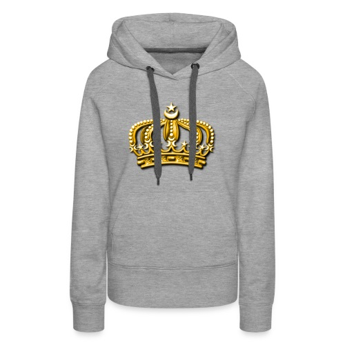 Gold crown - Women's Premium Hoodie