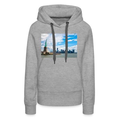 New York Skyline - Women's Premium Hoodie