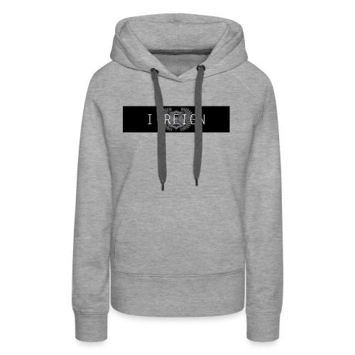 iREIGN Black Design - Women's Premium Hoodie
