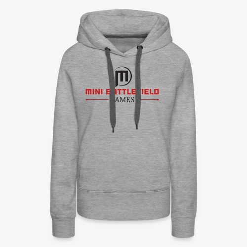 Mini Battlefield Games Logo - Women's Premium Hoodie