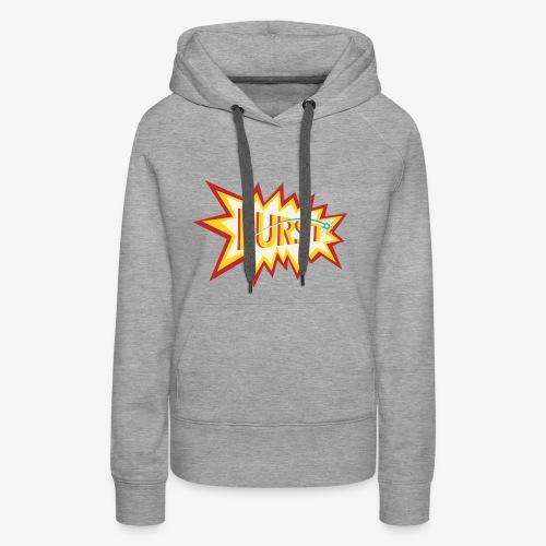 burst logo - Women's Premium Hoodie
