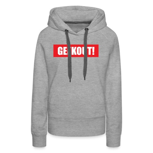 Geekout Gaming Apparel Branded Tee - Women's Premium Hoodie