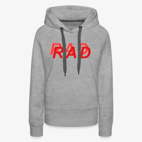 RAD IN RED - Women's Premium Hoodie