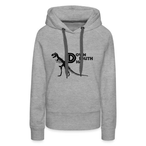 T-Rex Logo - Women's Premium Hoodie