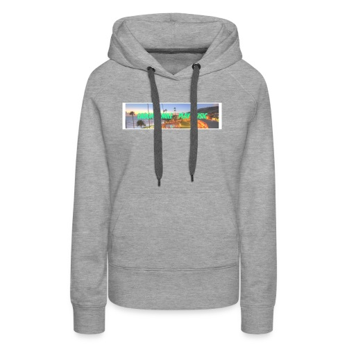 Laugh, Smile, play music clothing line - Women's Premium Hoodie