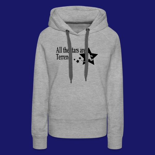 All the Stars Are Terrence - Women's Premium Hoodie