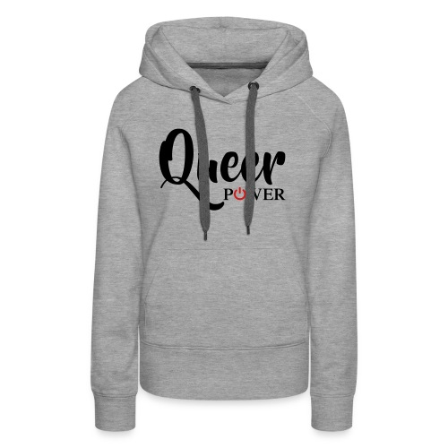 Queer Power T-Shirt 04 - Women's Premium Hoodie