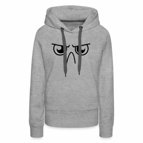 Grumpy Face - Women's Premium Hoodie